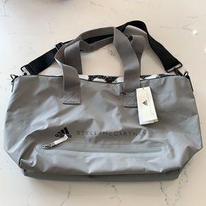 Adidas Stella McCartney Studio Bag Grey NWT